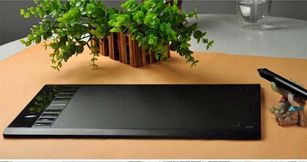品牌绘客hk708数位板手写板手绘板绘图板电子电脑绘画