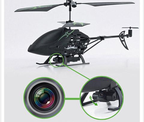 针孔摄像头高清航拍 抗摔遥控飞机直升机