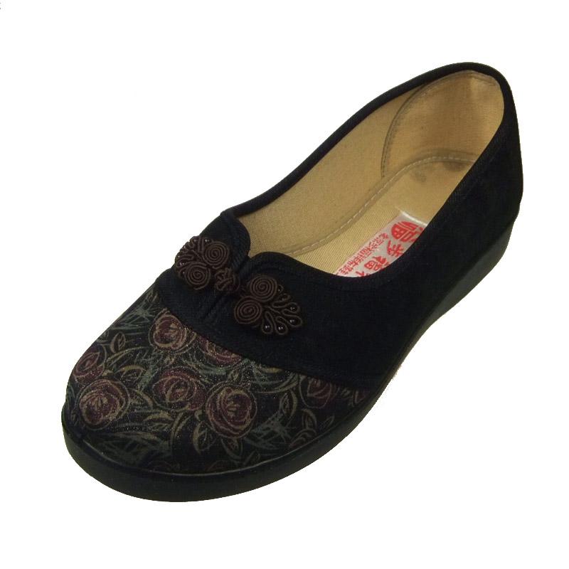 货到付款 步福祥 老北京布鞋 2013新款绣花女鞋 时尚单鞋 女鞋13127