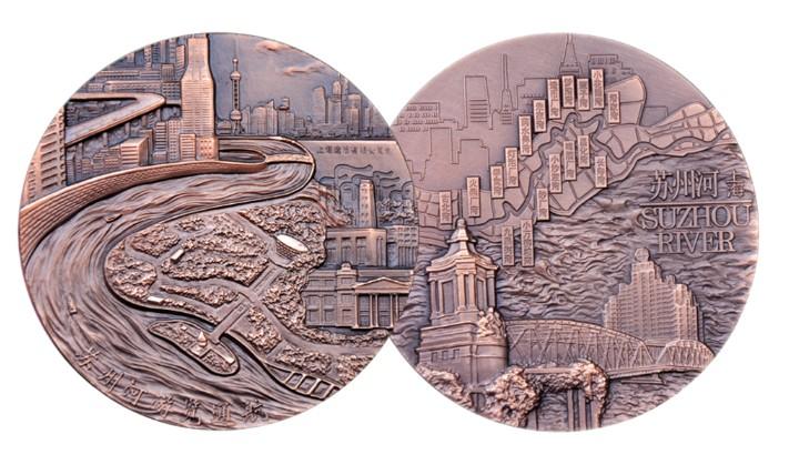苏州河览通航铜章