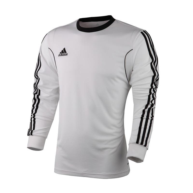 阿迪达斯adidas生活足球服男装三条纹速干专业服长袖t恤z20637 白色 2