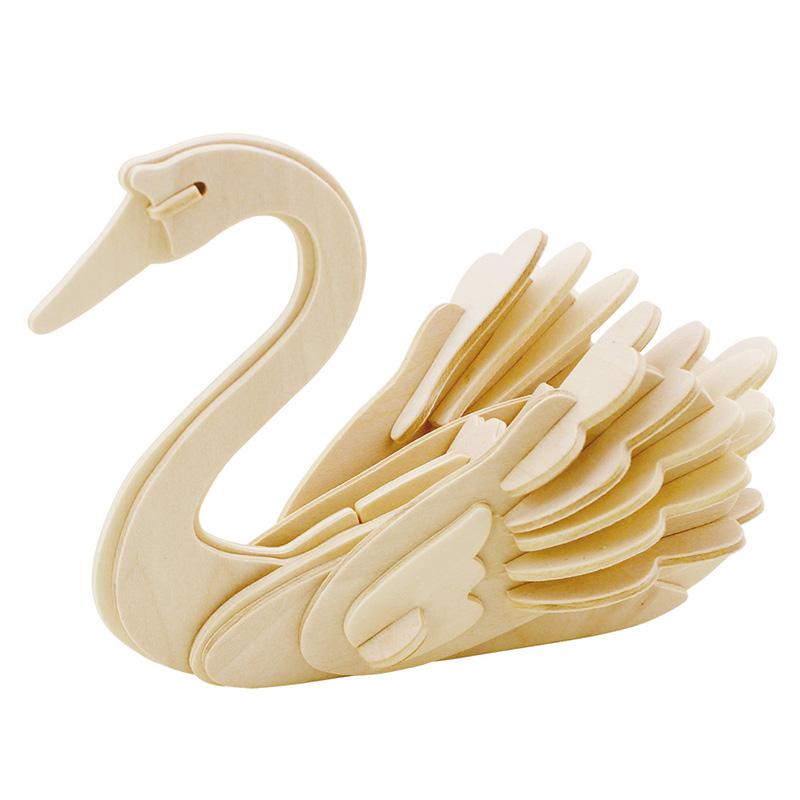 木质拼插静态动物模型立体拼图jp