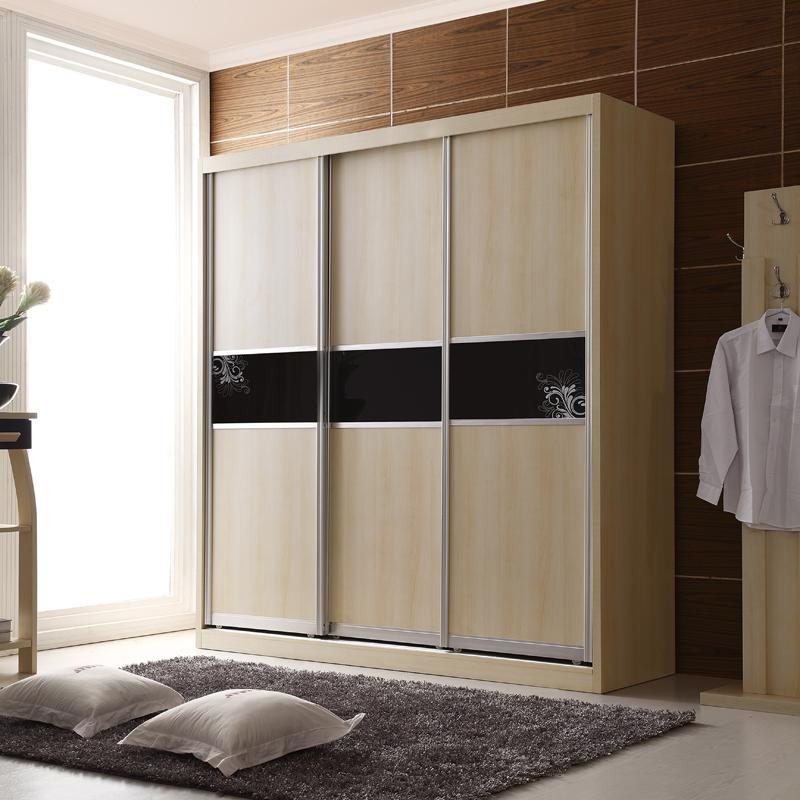 金写意 衣柜 木质衣柜 组合衣柜 802 白枫木色(2.0米)