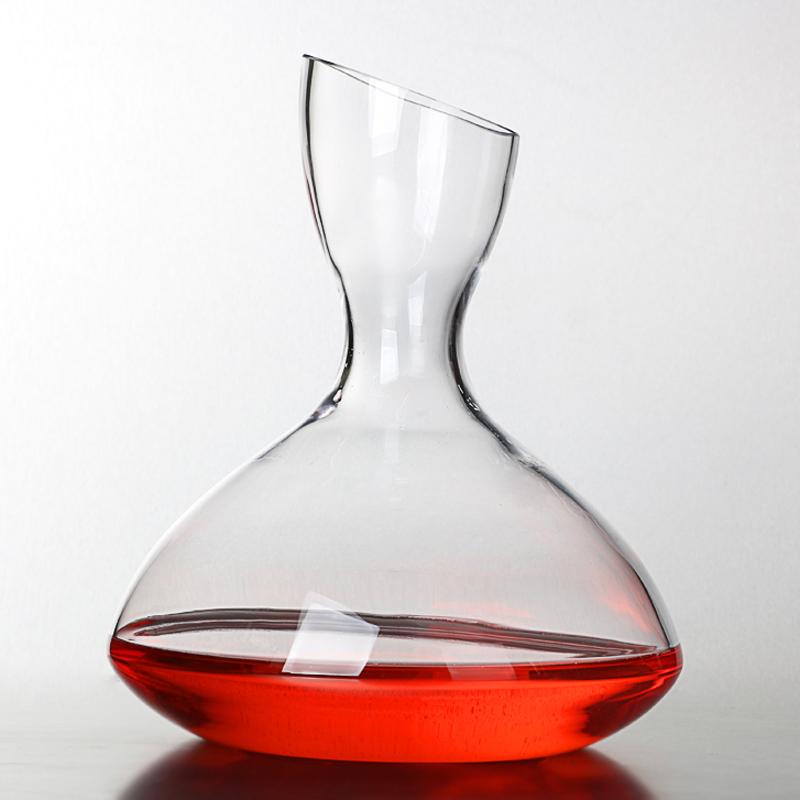 土耳其进口水晶醒酒器f&d芬蒂红酒壶快速醒酒器红酒醒酒器分酒器