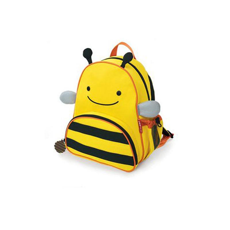 贝瑞佳幼儿园宝宝卡通书包儿童可爱休闲双肩背包 小蜜蜂