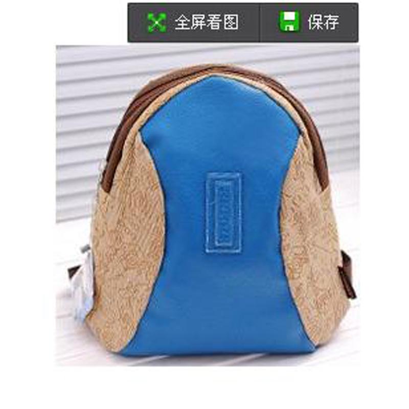 品伦新款可爱学生包韩版卡通甲骨文双肩背包斜挎包两用包小包女包