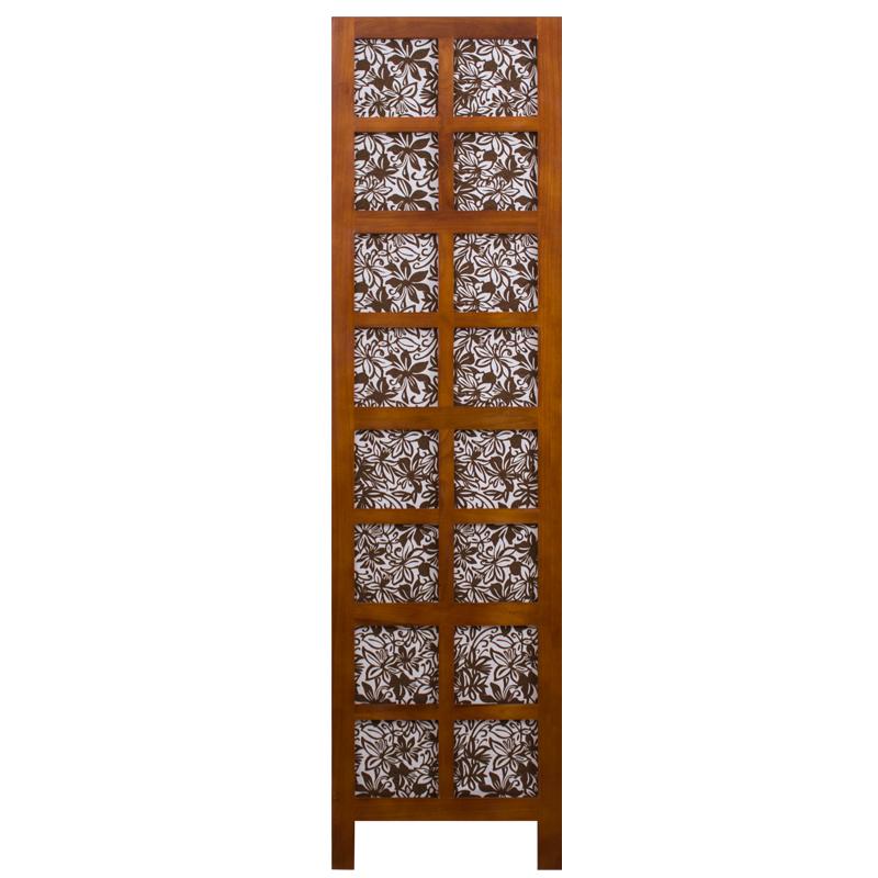 九信实木屏风现代中式 隔断时尚布艺折屏 客厅酒店酒楼大厅屏风玄关门