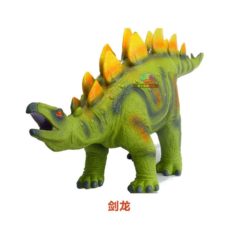 哥士尼 恐龙玩具恐龙 霸王龙大号恐龙 仿真动物模型 动物玩偶 50cm长