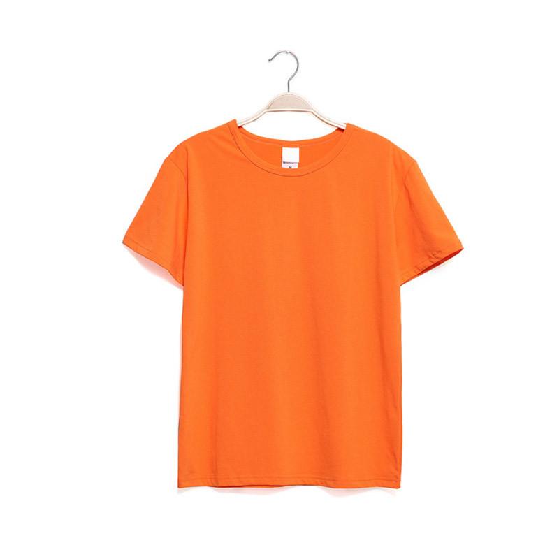 xfg 韩版修身男士t恤男式休闲t恤时尚圆领纯色体恤衫多色选择短袖t恤