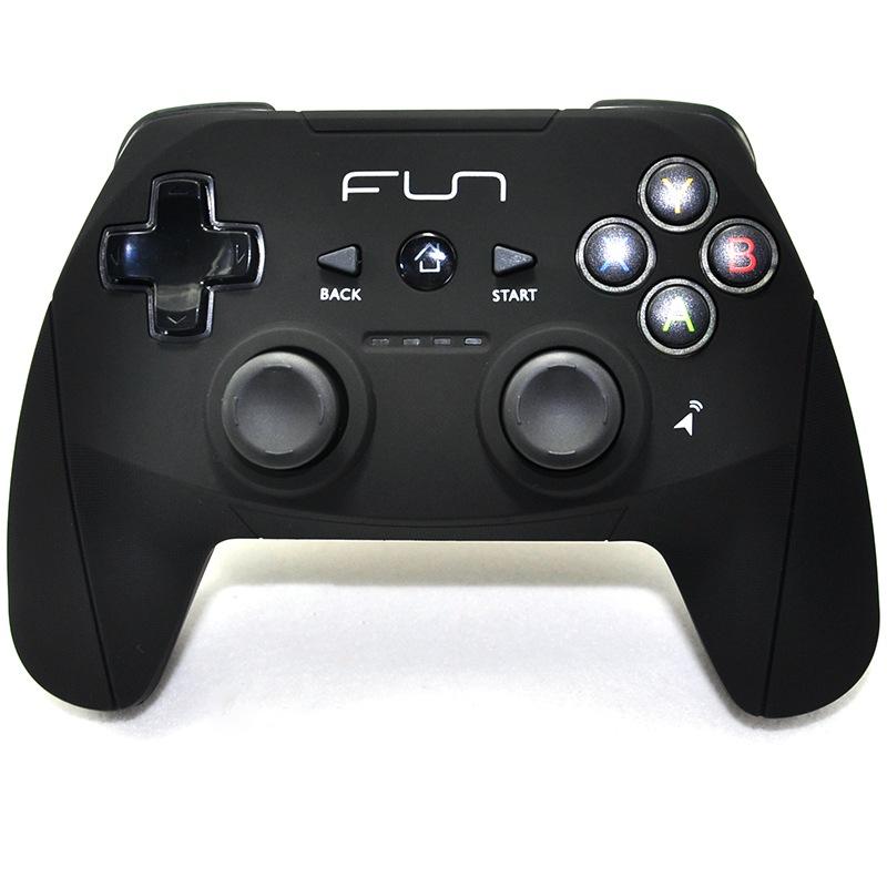 饭盒(funbox) fb-w1 蓝牙游戏手柄 震动 六轴陀螺仪 黑色