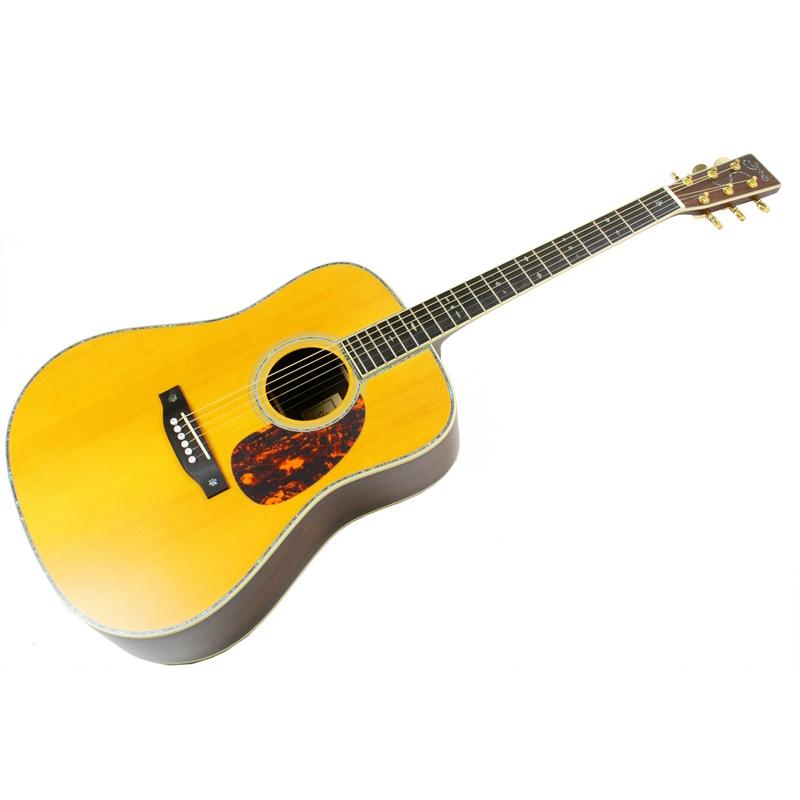 syairi雅依利原音木吉他高端系列 41寸民谣吉他圆角yd