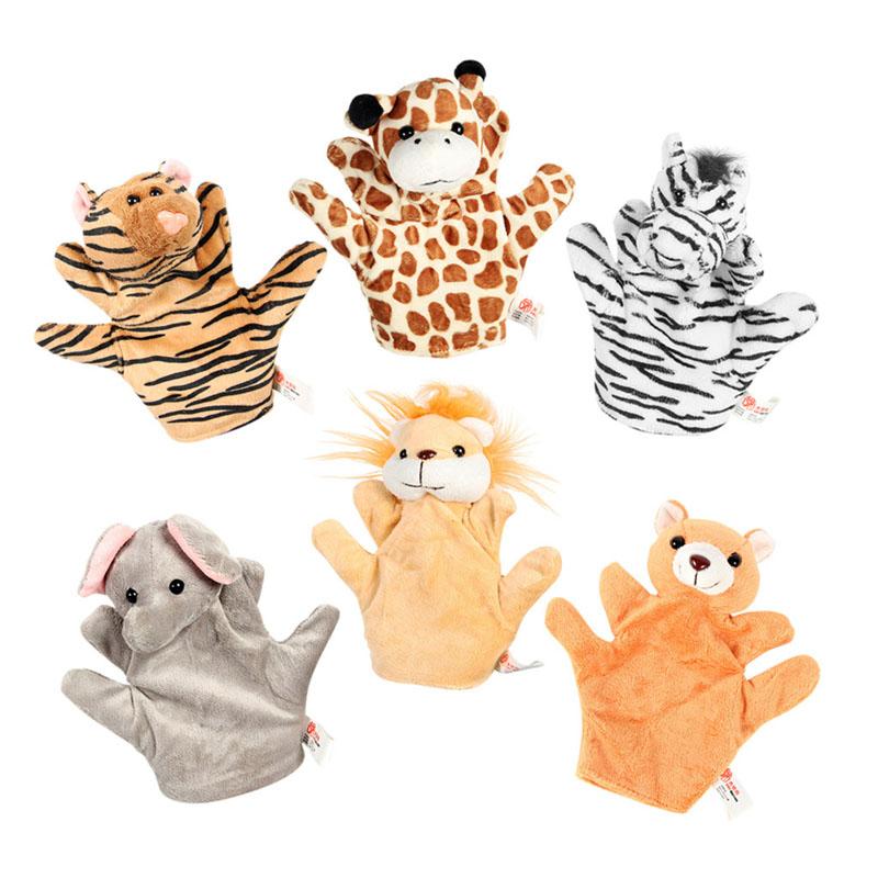 森林动物手偶组合