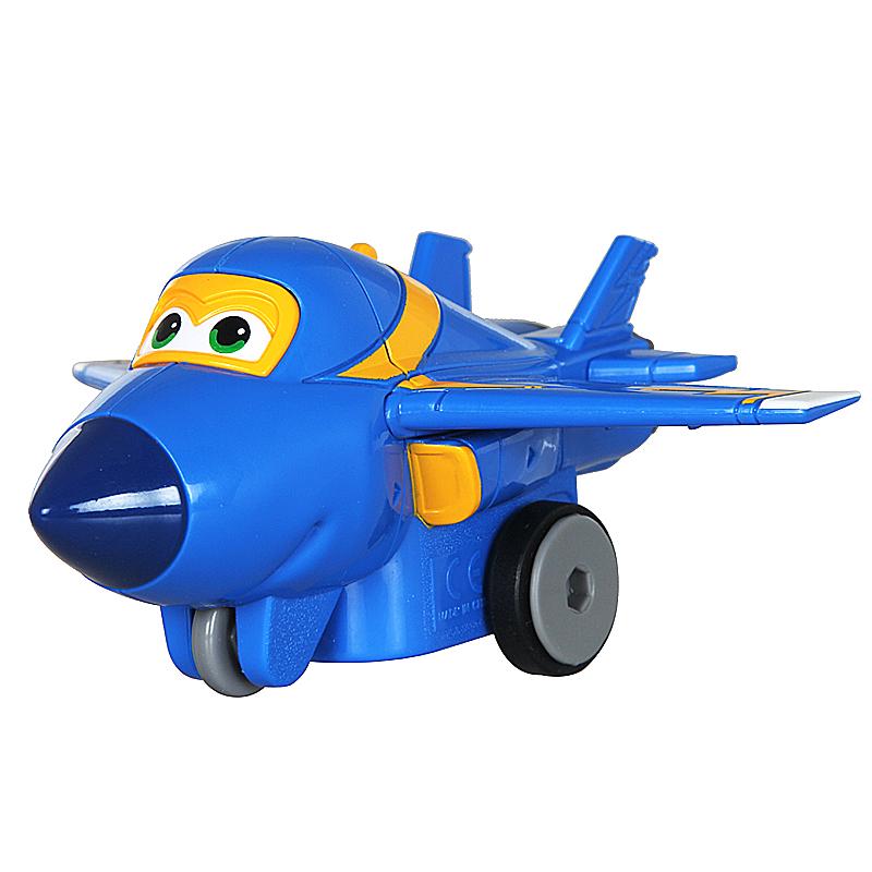 飞�_奥迪双钻 超级飞侠变形机器人 益智儿童玩具 滑行小飞机 滑行飞机-酷
