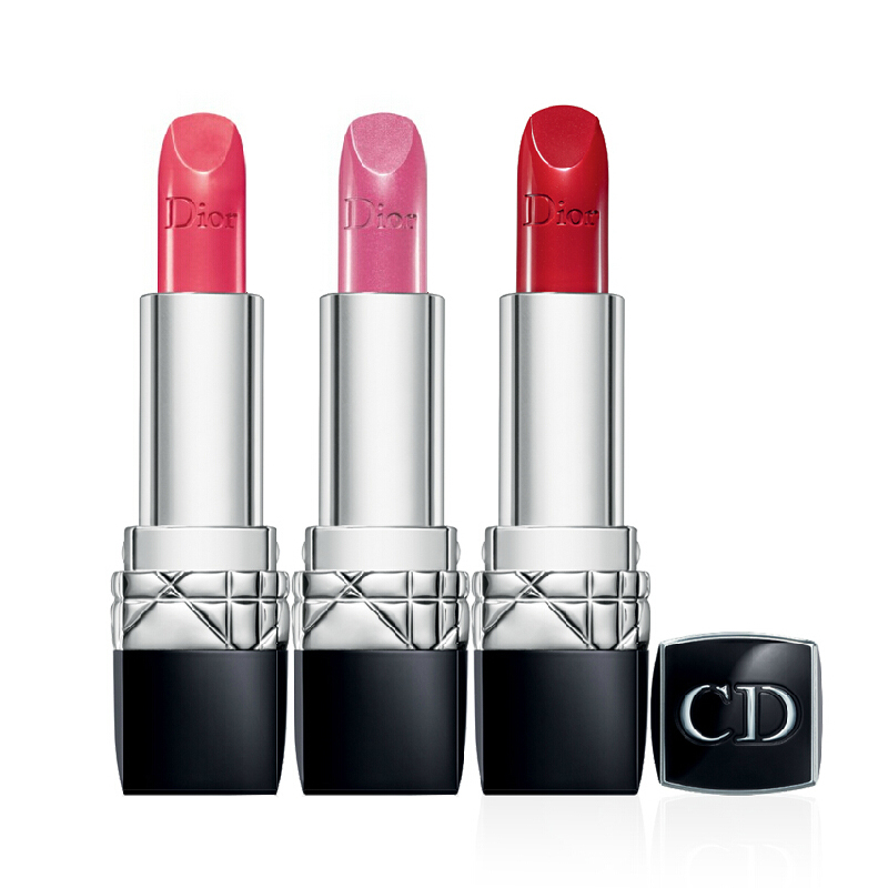 迪奥2013新款烈焰蓝金唇膏口红Rouge Dior海报款是什么颜色