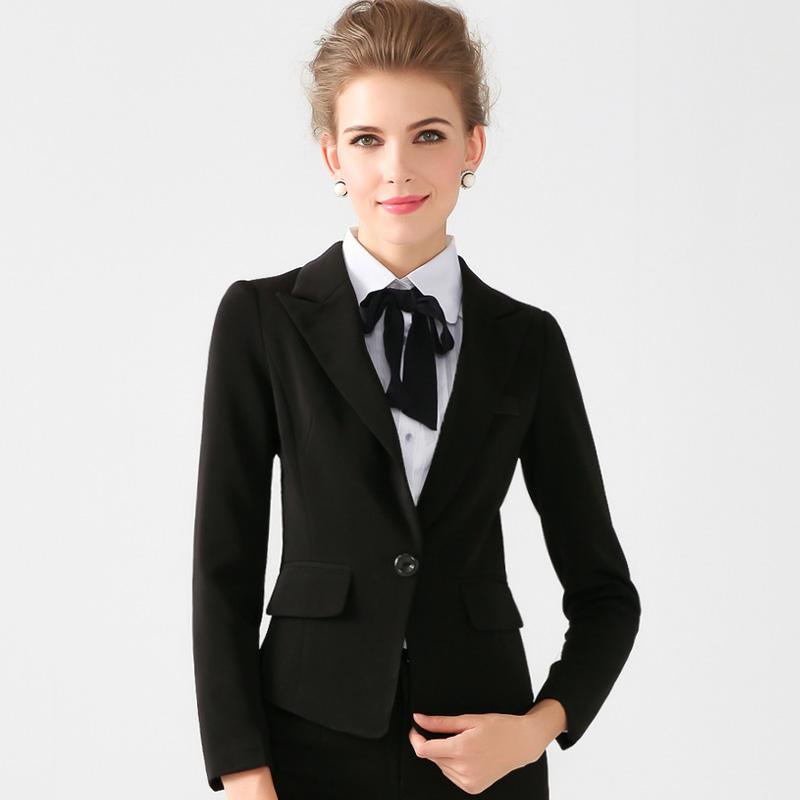2015春夏新款职业女装外套白领范小西装女一粒扣短款