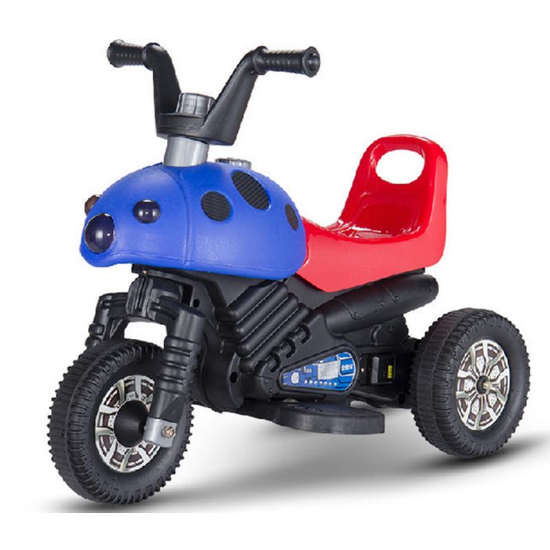 电动摩托车电动玩三轮车具宝宝电动摩托车 电动童车儿童玩具电动车 可