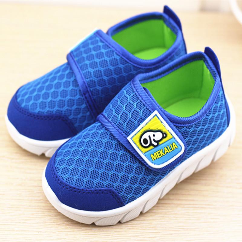 男女童鞋新款潮透气小孩鞋儿童运动鞋0-1-2-3-4岁宝宝学步鞋子网鞋