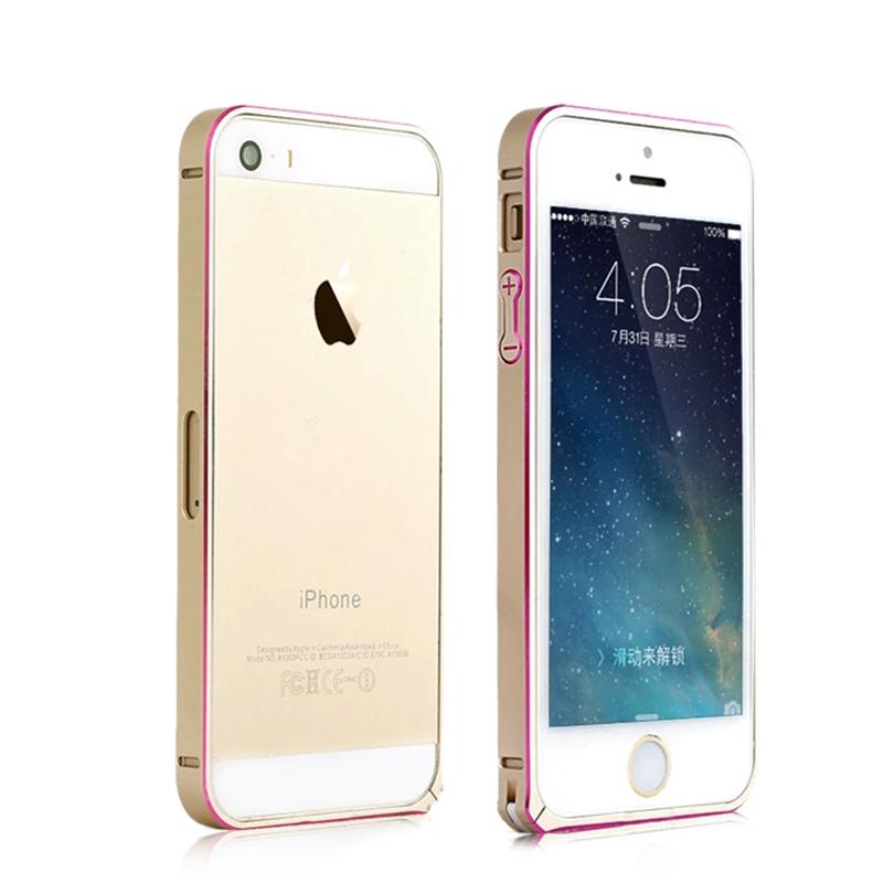 诺时代 sd9苹果手机边框海马扣双色金属边框 适用于iphone5/5s iphone