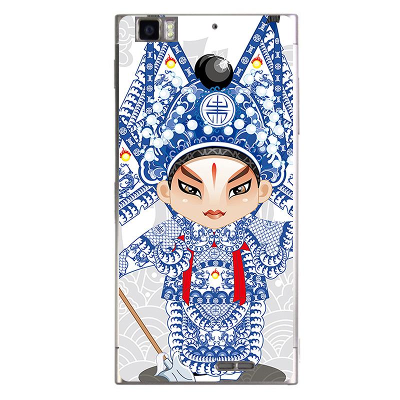 摩品 透明彩绘手机壳 创意个性时尚手机套 浮雕保护硬壳 适用于联想