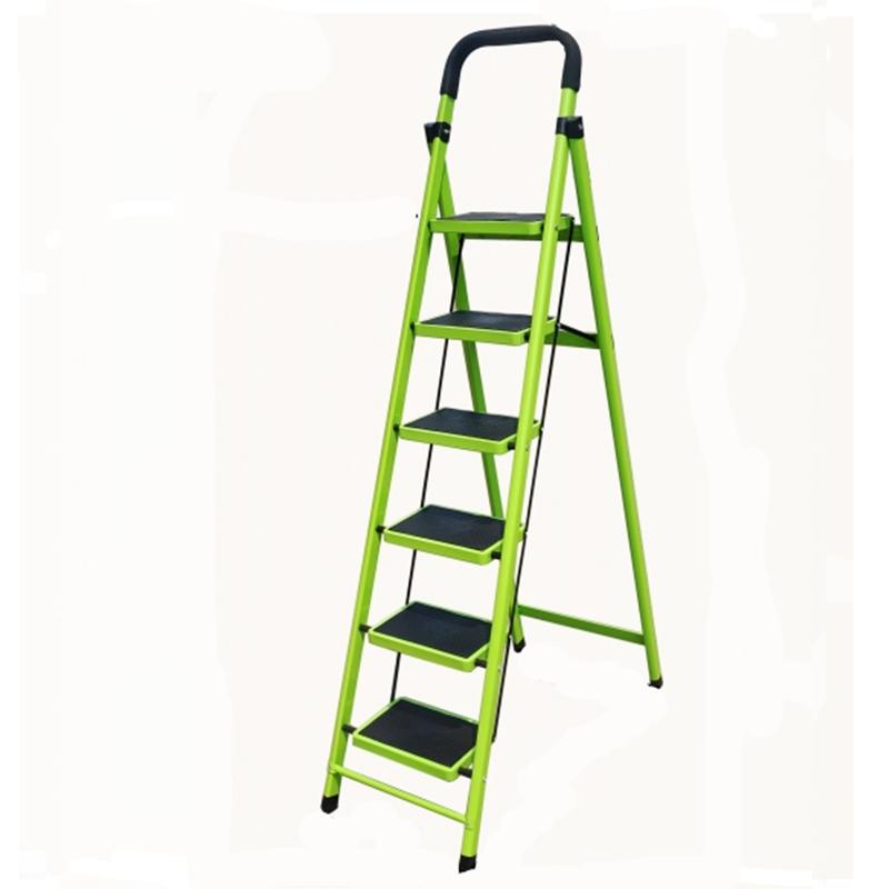 家用伸缩人字梯子