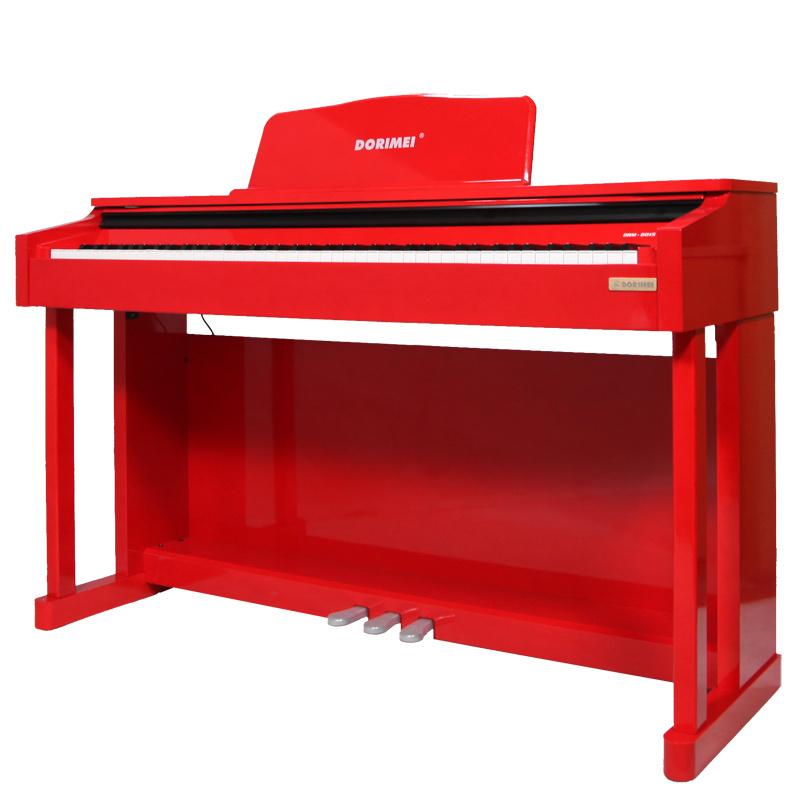 多瑞美88键电钢琴标准重锤手感键盘成人儿童初学数码钢琴 8015亮光图片