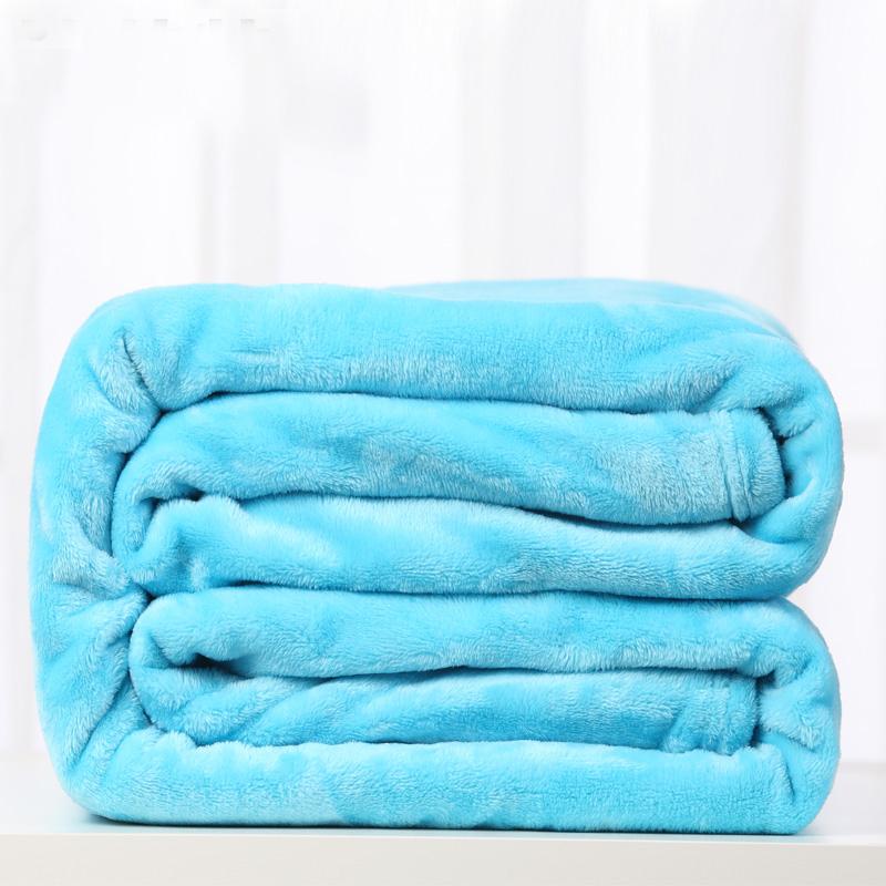 波菲特 毛毯子 珊瑚绒毛毯被 加厚盖毯 床单 春夏空调