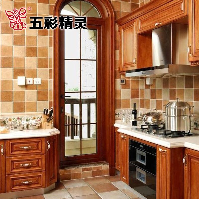砖咖啡色复古风美式乡村欧式地中海风格厨房卫生间阳台瓷砖墙砖地砖