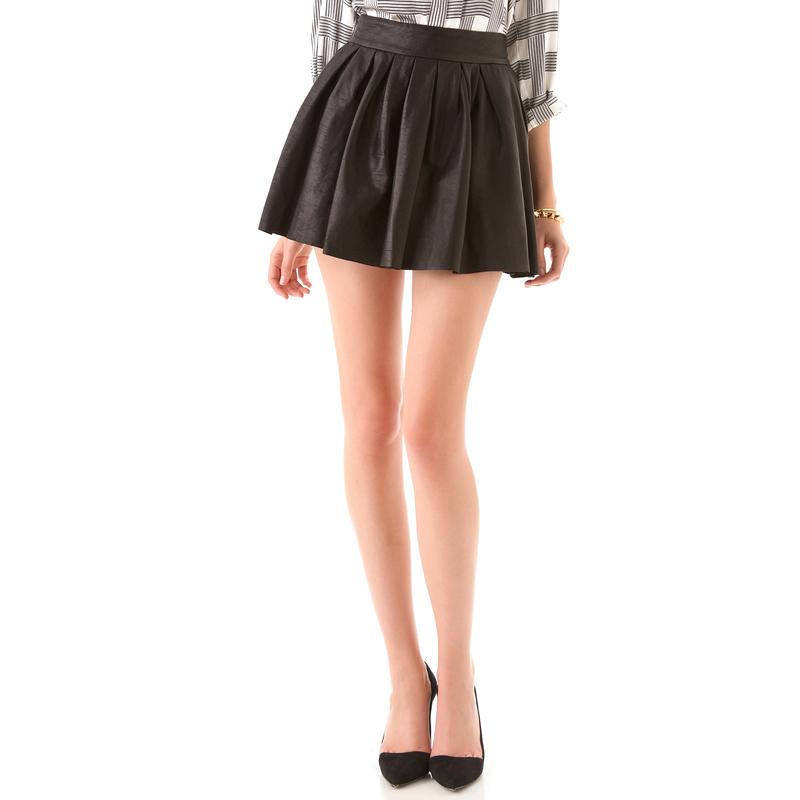 皮裙款式设计图