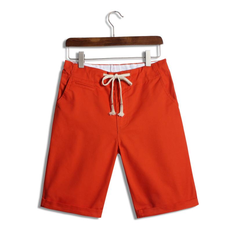 款糖果色短裤