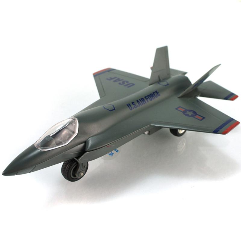 彩珀 战斗机客机波音儿童合金飞机玩具 航母舰飞机合金战机模型 酷炫