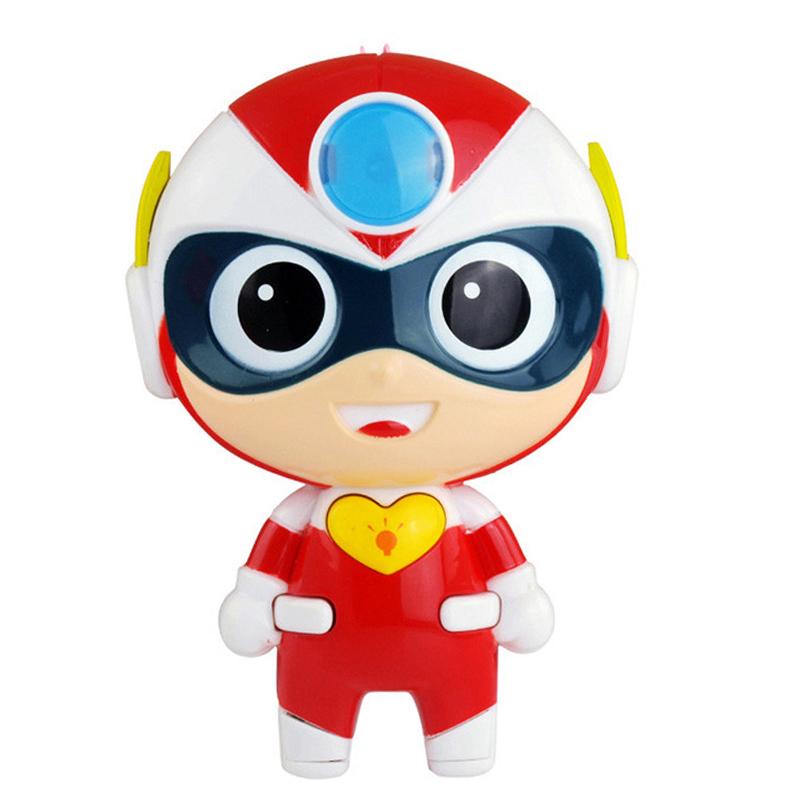 信必达 正版开心超人故事机 开心宝贝婴幼儿童宝宝早教故事机玩具带夜