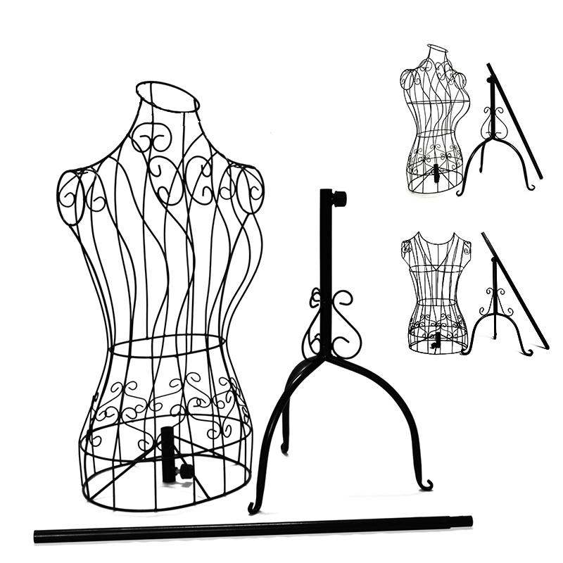 蝴蝶印象 铁艺模特架 女装人体模特 婚纱架服装展示架