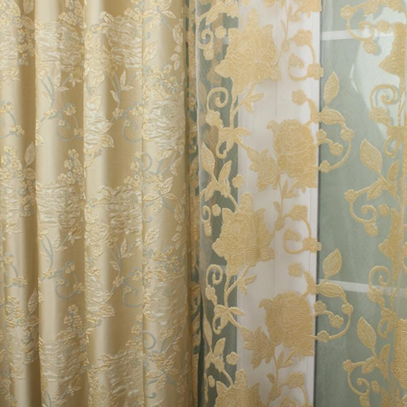欧式奢华加厚窗帘图片