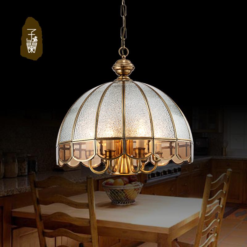 【子兰灯饰】欧式餐厅灯欧式吊灯客厅灯餐吊灯饭厅灯复古灯餐灯餐桌灯图片