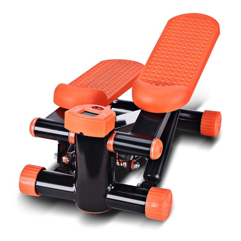 adking液压连杆静音健身器材塑身减肥登山机脚踏机踏步机ad-1358 橙色图片