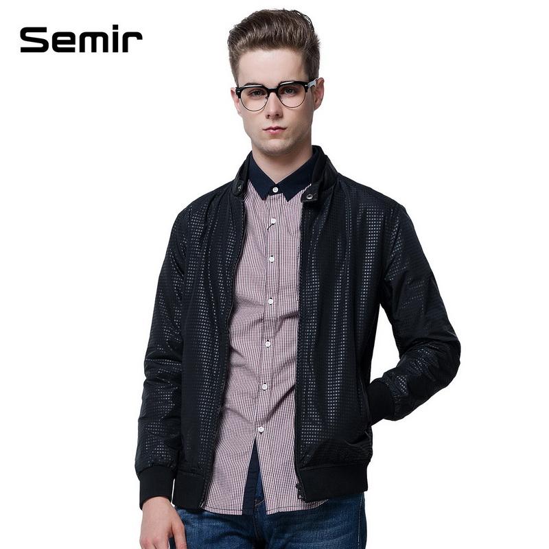 森马2014秋装新款男装外套男直筒休闲斜插口袋外套夹克休闲外套 黑色图片