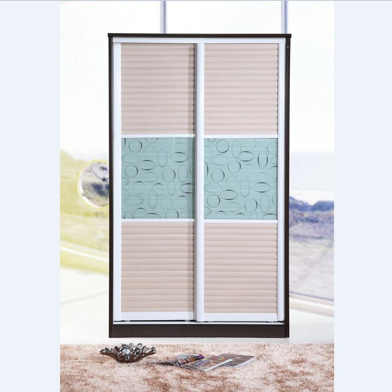 2米趟门衣柜 推拉门衣柜 简易时尚 移门衣柜