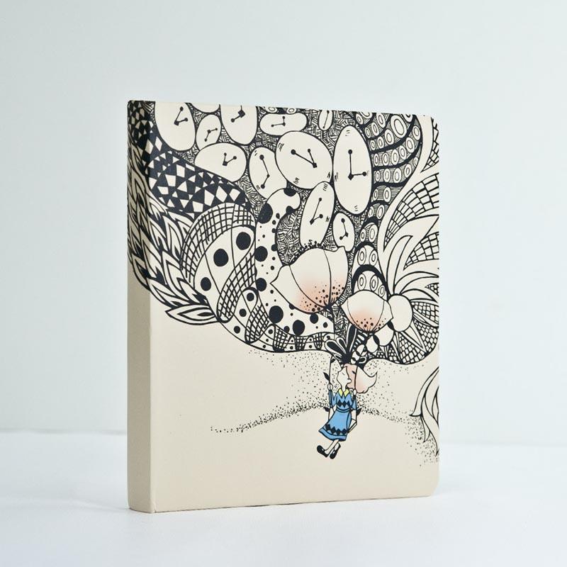 米可兰迪 i like原创手绘插画日记本绘画本彩页图画本