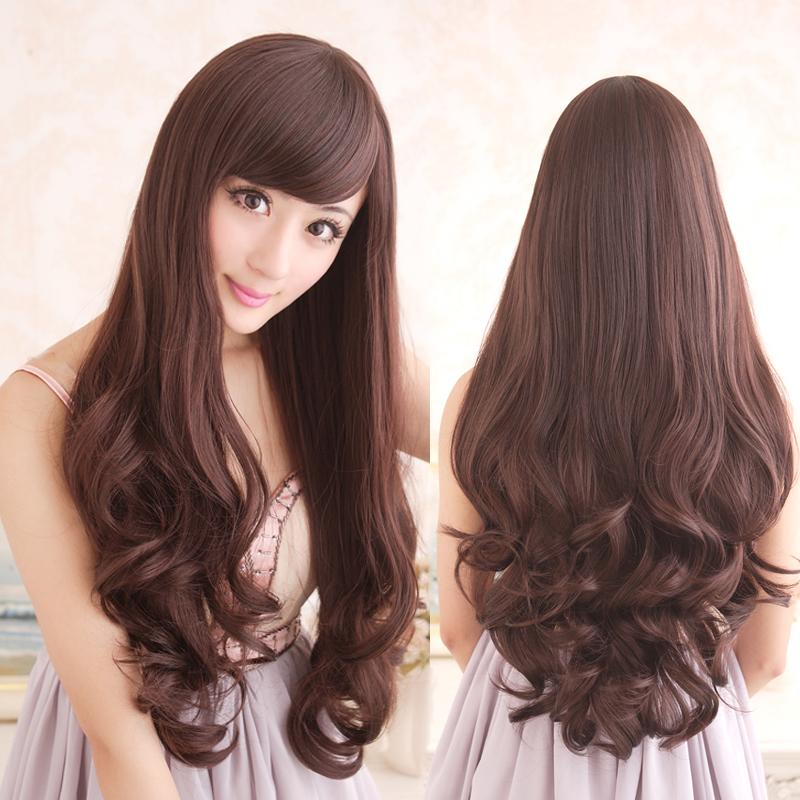 贝丽丝假发 假发女长卷发 长发女士女生大波浪逼真jiafa发套 黑色