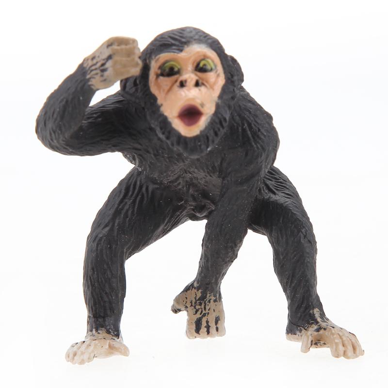活石 仿真动物模型 大象 熊猫塑胶益智玩具 野生动物 明星马戏团启蒙