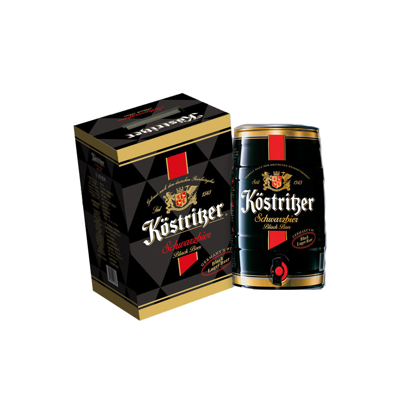【行货正品】德国卡力特啤酒黑啤5l礼盒装 原装进口