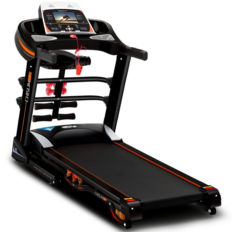 家用健身器材_启迈斯858跑步机 家用健身器材超静音可折叠 豪华版彩屏wifi 电动多