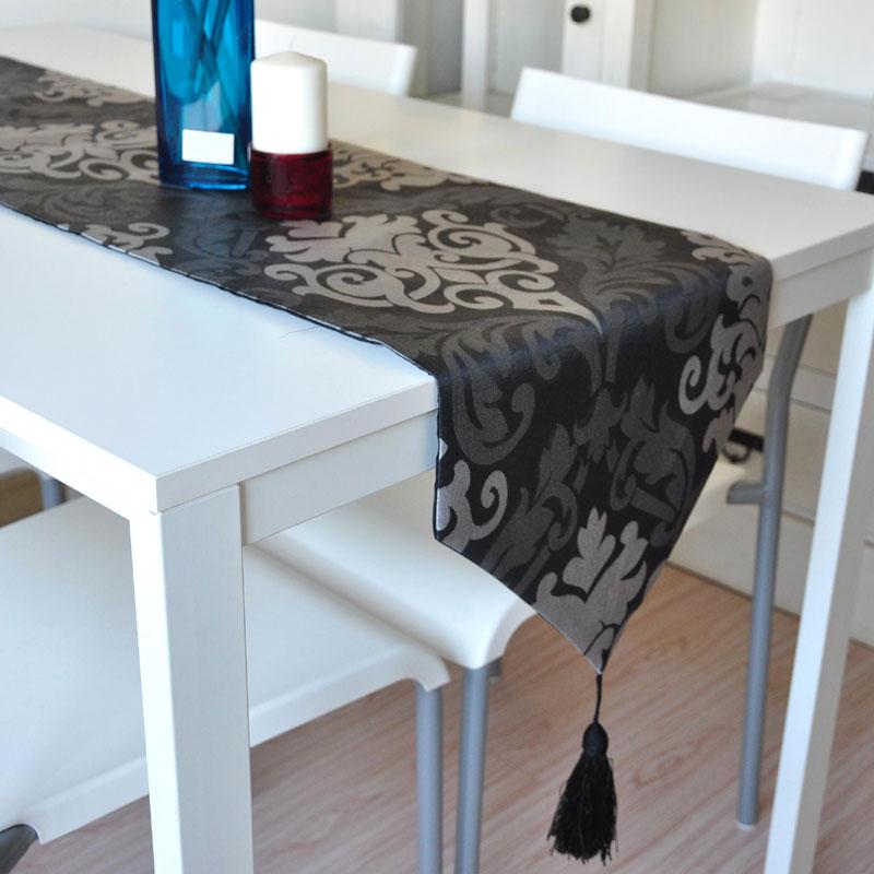 米乐 巴洛克风格桌旗欧式奢华装饰桌旗餐旗餐桌旗餐垫