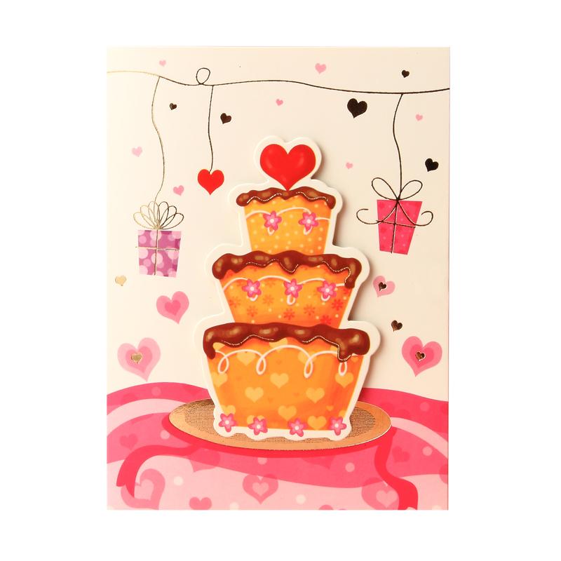万用迷你生日蛋糕卡图片