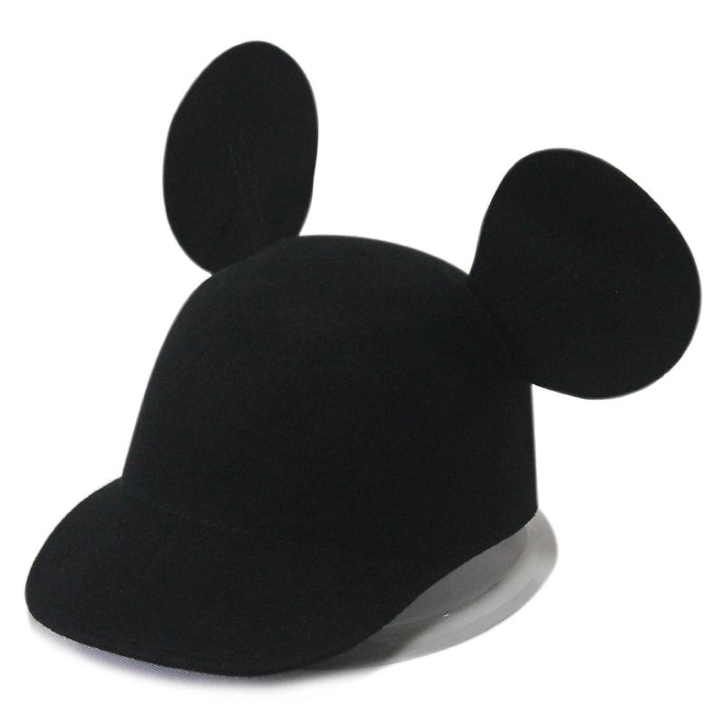 择信韩国米老鼠大耳朵小礼帽明星头饰权志龙卡通帽子街头恶魔帽子图片