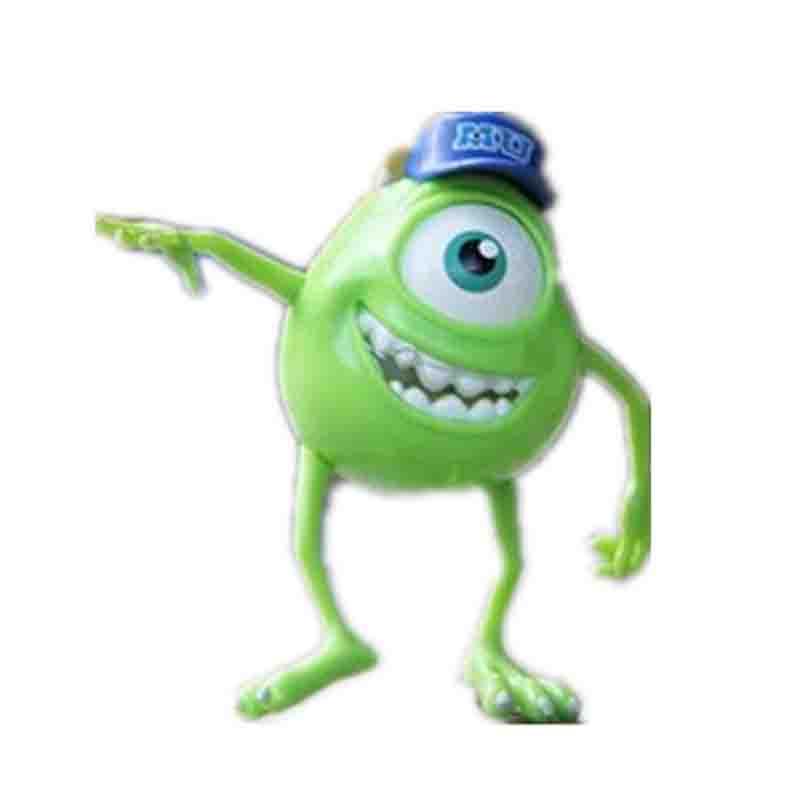 怪物大学大眼仔头像_2015年货新尼怪兽大学大眼仔 mu帽单眼仔麦克可动关节