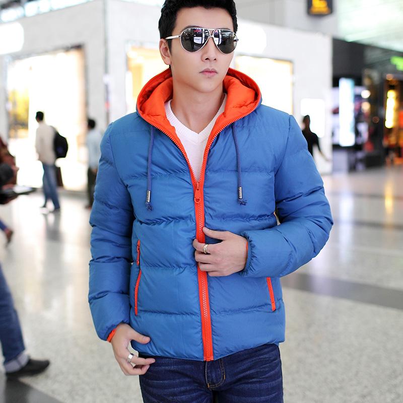 男宾韩版休闲男士冬装班尼路潮流前线森马外套棉服男图片