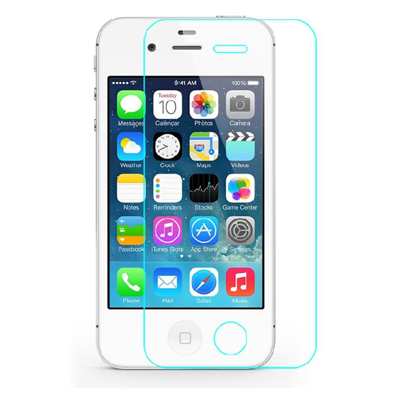 苹果4_jfx 钢化玻璃膜 手机贴膜 适用于iphone4s/苹果4 iphone4s 钢化膜