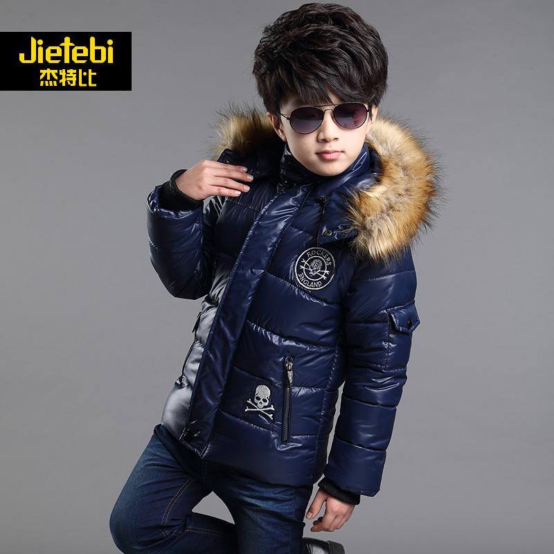 童装男童冬装外套儿童棉衣加厚大童男装棉服 男孩冬装图片