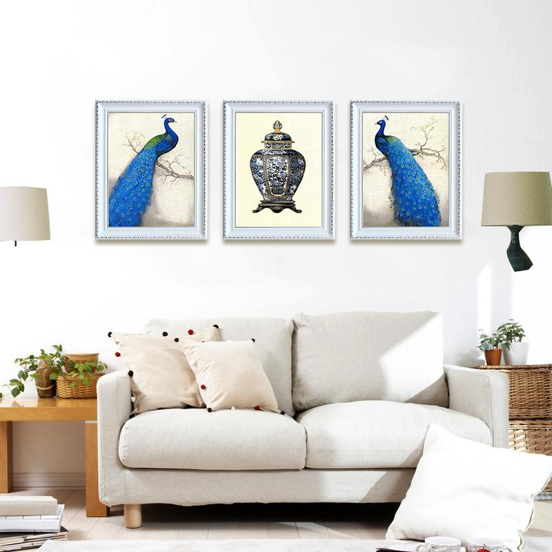 客厅现代简约装饰画